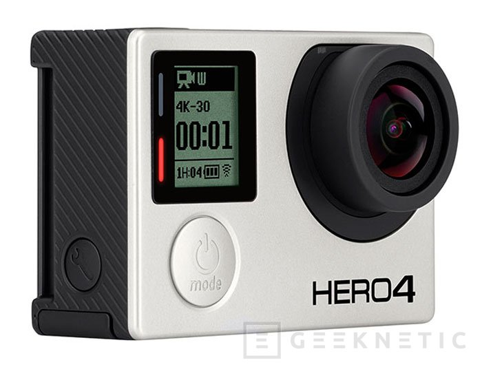 Llegan las GoPro Hero 4 con grabación 4K y pantalla táctil, Imagen 1