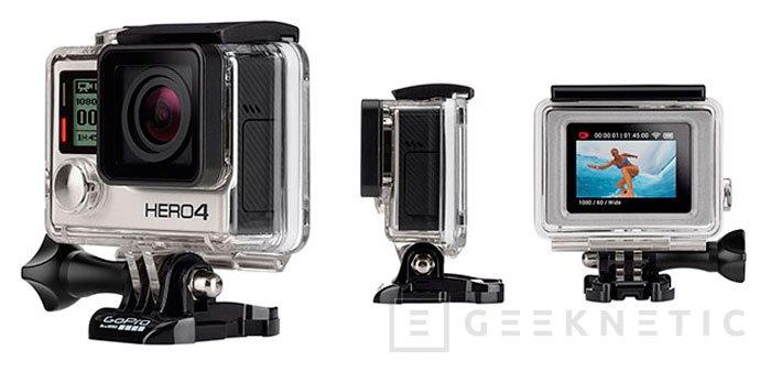 Llegan las GoPro Hero 4 con grabación 4K y pantalla táctil, Imagen 3