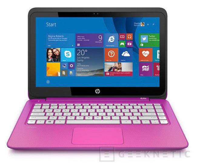 La familia HP Stream recibe nuevos tablets y portátiles realmente baratos, Imagen 1