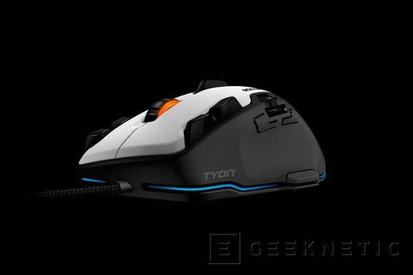 Llega al mercado el ratón gaming Roccat Tyon con sus 16 botones configurables, Imagen 1