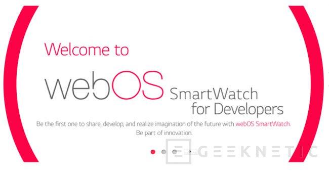 LG integrará WebOS en sus SmartWatch, Imagen 1