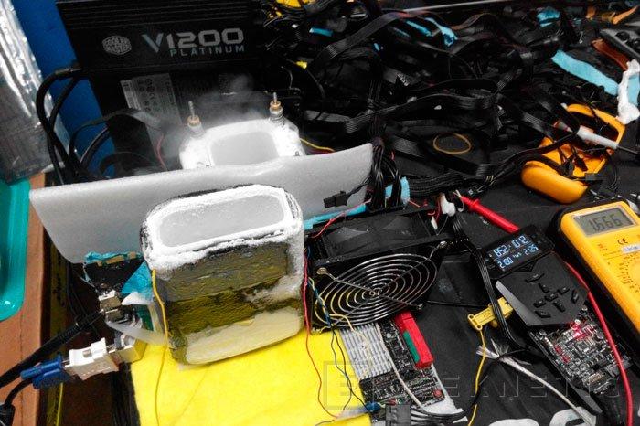 Consiguen un nuevo record de overclock poniendo a 2,2 GHz una ASUS Strix GTX 980 , Imagen 1