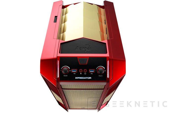 Aerocool apunta a ordenadores gaming compactos con sus nuevas torres Xpredator Cube, Imagen 2