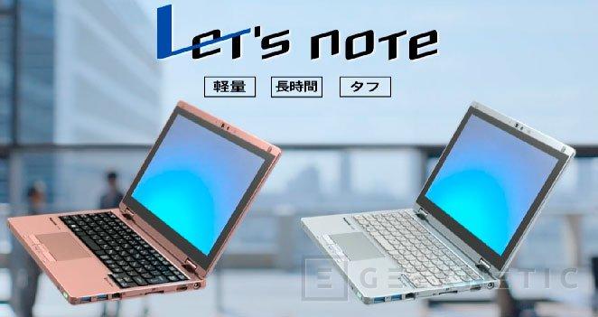 Panasonic entra en el mercado de portátiles convertibles lanzando el ligerísimo Let's Note RZ4, Imagen 2