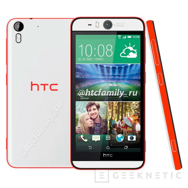 Filtrados los detalles del HTC Desire EYE y su cámara frontal de 13 megapíxeles, Imagen 1