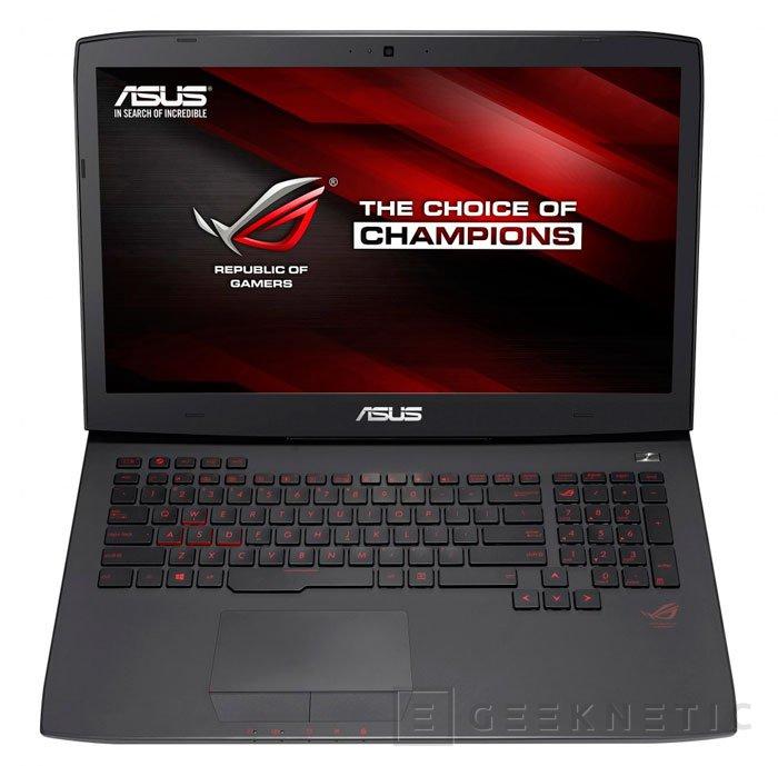 ASUS también apuesta por las nuevas GTX 980M y GTX 970M para sus nuevos portátiles ROG G751, Imagen 2