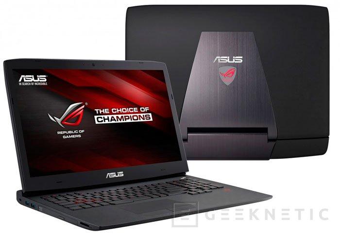 ASUS también apuesta por las nuevas GTX 980M y GTX 970M para sus nuevos portátiles ROG G751, Imagen 3