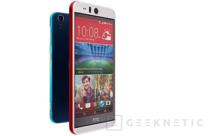 HTC lanza oficialmente el Desire EYE, su primer móvil para selfies, Imagen 1