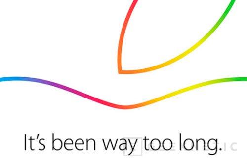 Apple presentará nuevos dispositivos el 16 de octubre, Imagen 1