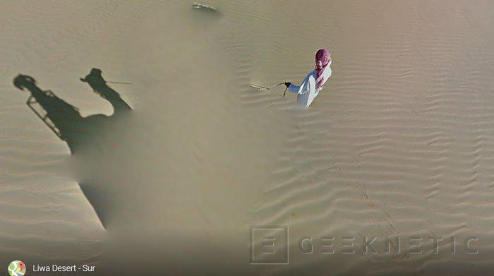 Google utiliza un camello para añadir a Street View el desierto de Liwa, Imagen 2