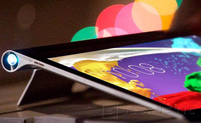 Lenovo integra un proyector en su nuevo Yoga Tablet 2 Pro, Imagen 1