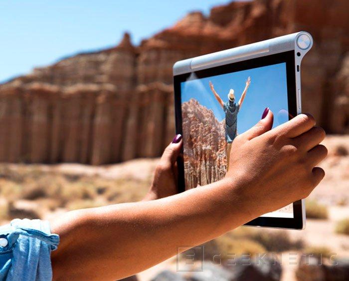 Lenovo integra un proyector en su nuevo Yoga Tablet 2 Pro, Imagen 3