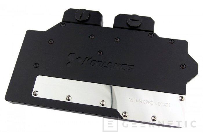 Koolance se apunta a la Geforce 980 GTX con su nuevo bloque, Imagen 1