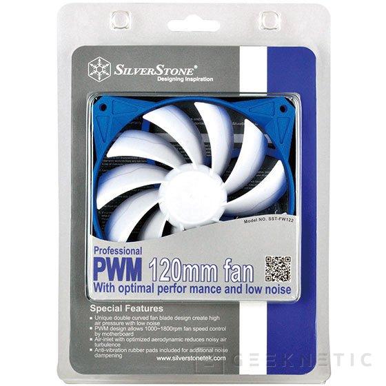 SilverStone pone a la venta dos nuevas gamas de ventiladores, Imagen 2