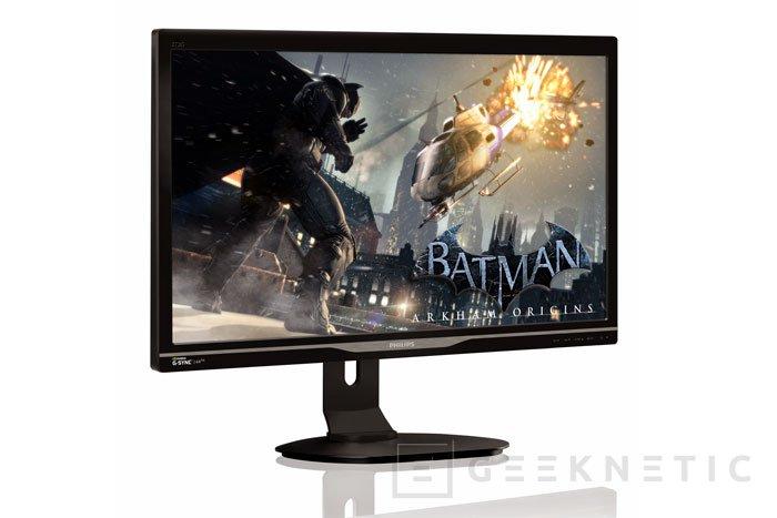 Philips sigue apostando por el G-SYNC en su nuevo monitor, Imagen 1