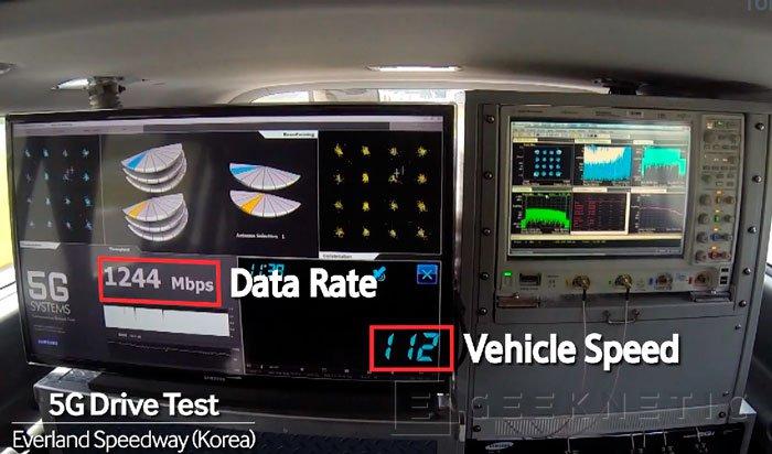 Samsung consigue alcanzar 7,5 Gbps de velocidad en sus pruebas de redes 5G, Imagen 1