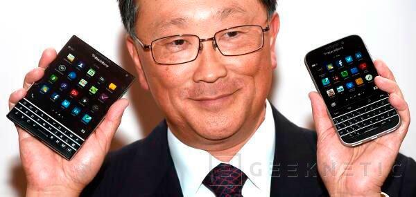 Se filtran las primeras especificaciones del Blackberry Classic, Imagen 1