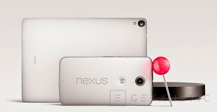 Llega el Nexus 6 con 5,9 pulgadas de pantalla, Imagen 3