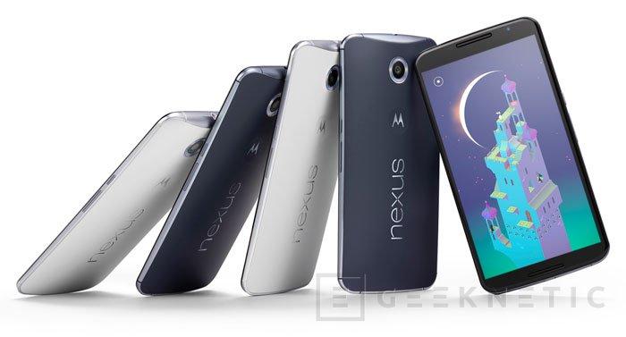 Llega el Nexus 6 con 5,9 pulgadas de pantalla, Imagen 2
