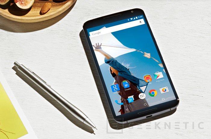 Llega el Nexus 6 con 5,9 pulgadas de pantalla, Imagen 1