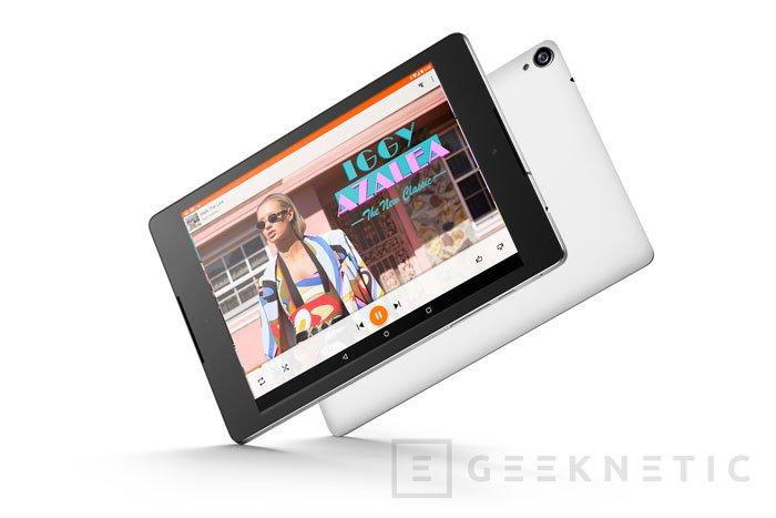 Google estrena las 8,9 pulgadas en su nuevo tablet Nexus 9 con Tegra K1, Imagen 1