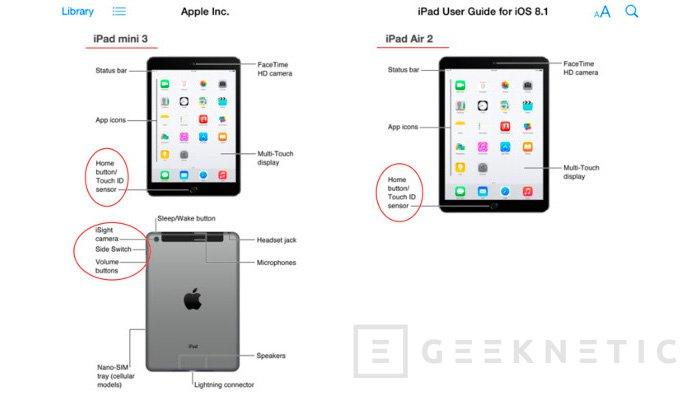 A Apple le entran las prisas y filtra los nuevos iPad 2014, Imagen 1