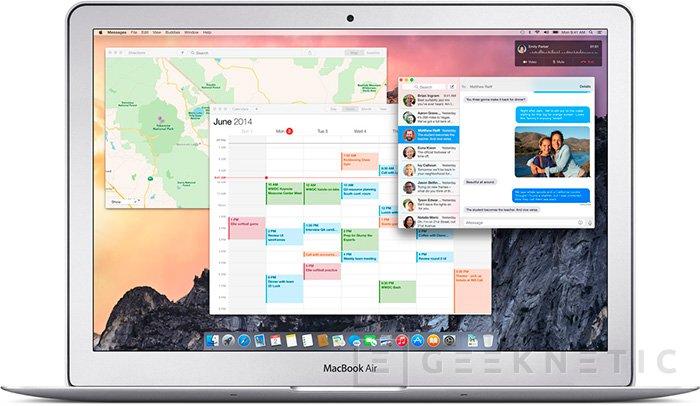 Apple presenta MacOS X Yosemite, Imagen 2