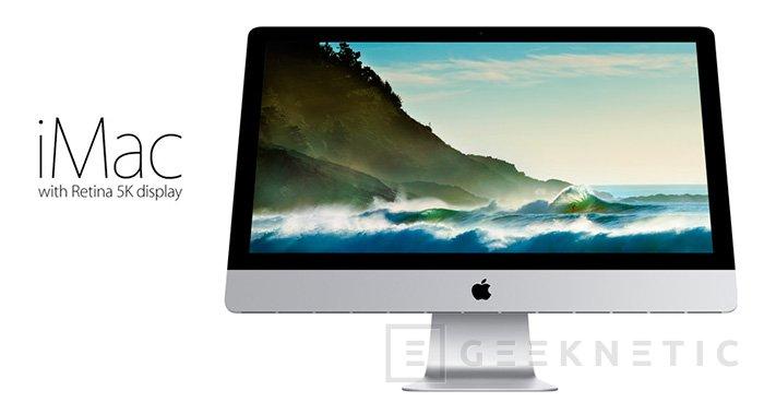 Apple introduce una nueva generación de iMac con pantalla Retina 5k, Imagen 1