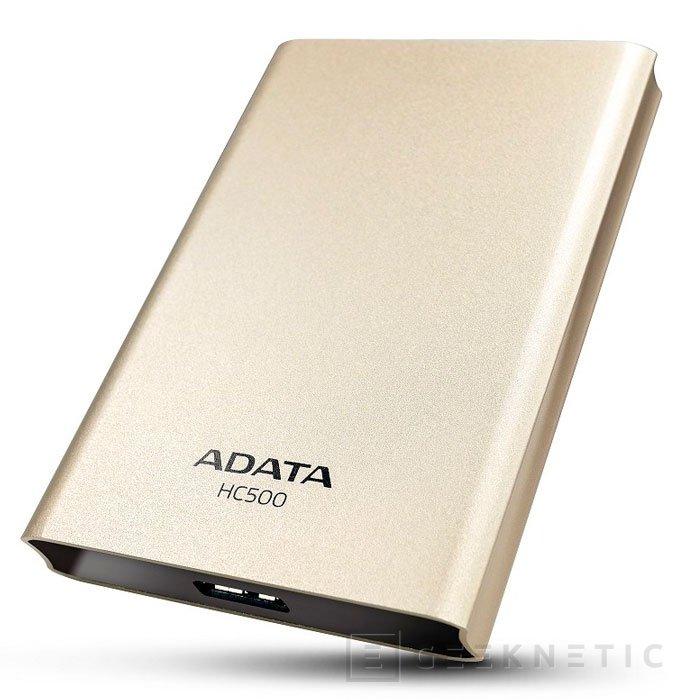 ADATA HC500, nuevo disco externo USB 3.0 con 2 TB de capacidad, Imagen 1