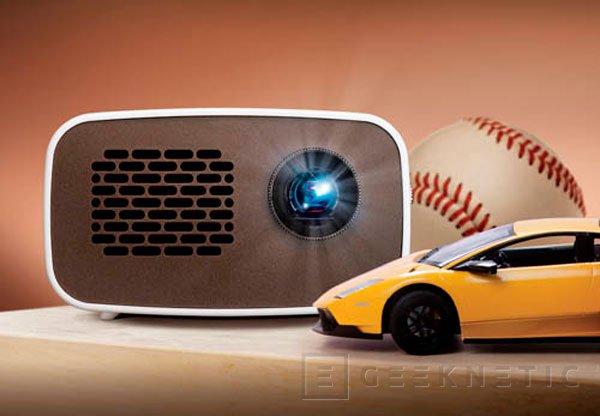 Nuevo mini proyector LG PH300, 100 pulgadas de pantalla sin cables, Imagen 1