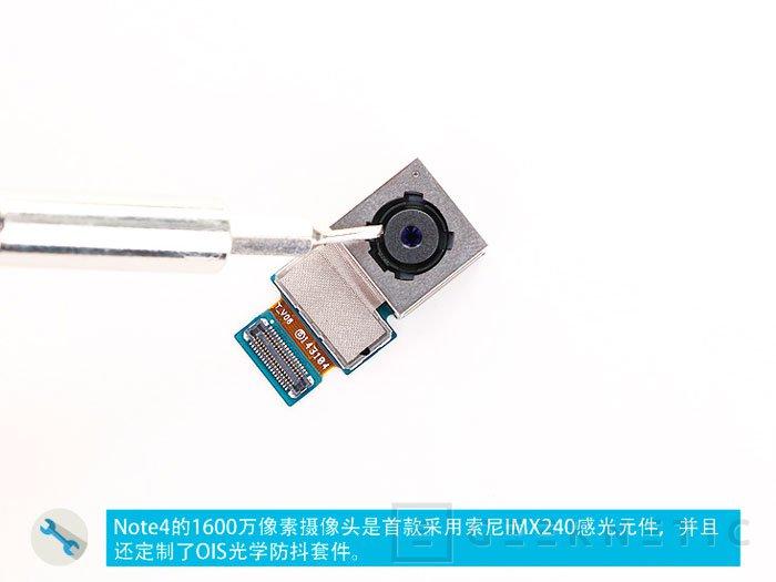 Samsung abandona su sensor ISOCELL en la cámara del Note 4 y lo sustituye por uno de Sony, Imagen 1