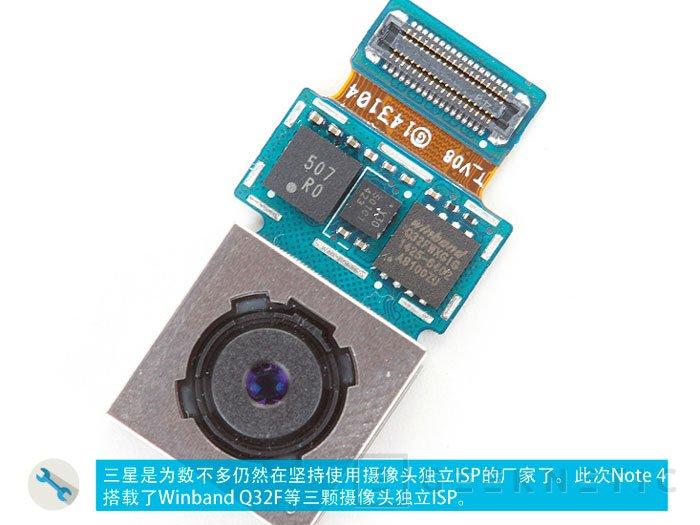 Samsung abandona su sensor ISOCELL en la cámara del Note 4 y lo sustituye por uno de Sony, Imagen 2