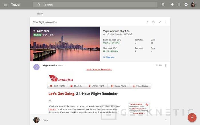 Google quiere facilitar la lectura del correo electrónico con Inbox, Imagen 2