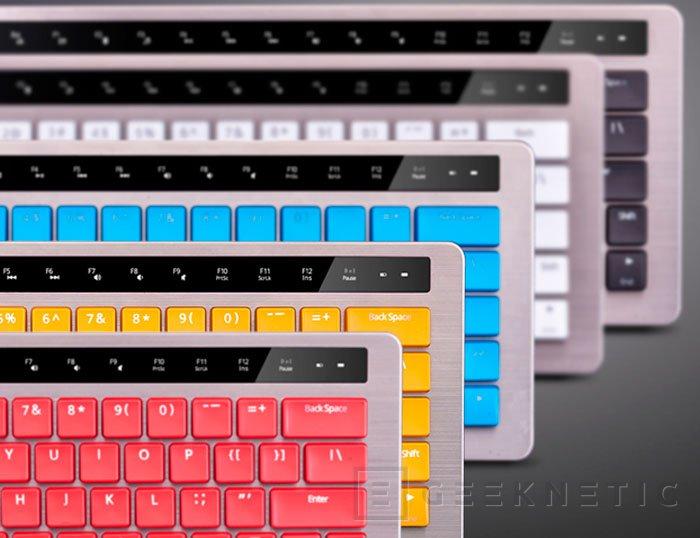 Rapoo KX, un teclado inalámbrico con interruptores mecánicos, Imagen 2
