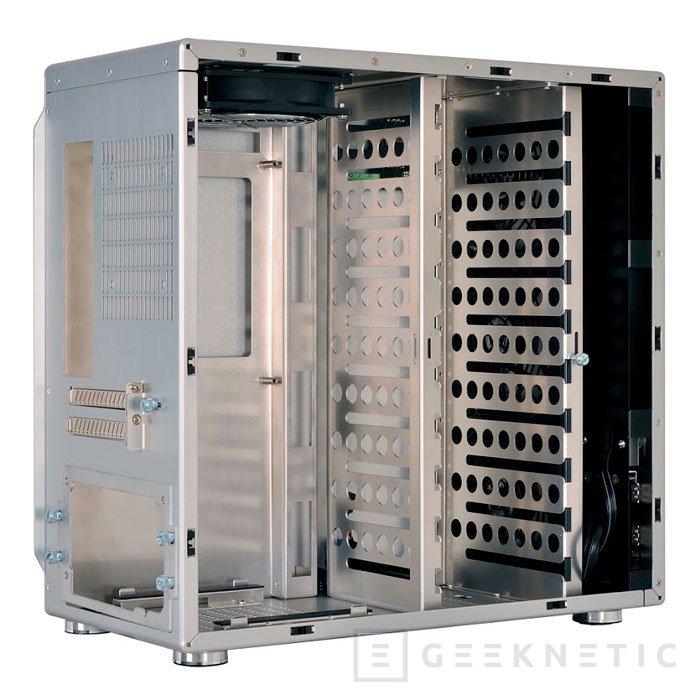 La nueva torre mini-ITX de Lian Li puede albergar hasta 11 discos duros, Imagen 2