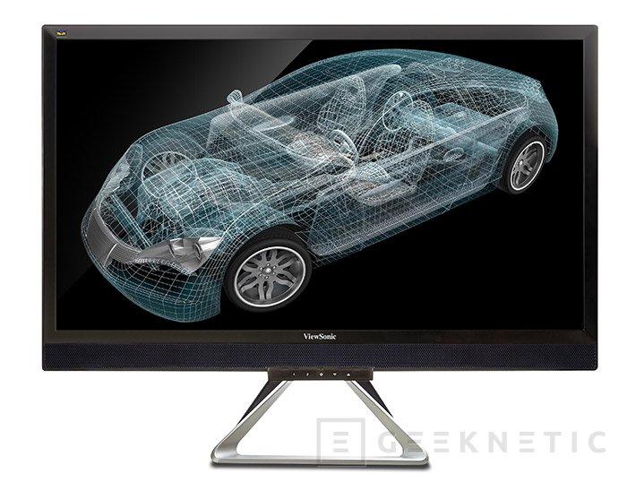 """VX2880ml: el monitor 4k y 28"""" de menos de 500 Euros de Viewsonic, Imagen 1"""