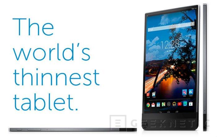 La Dell Venue 8 7000 será más fina que el iPad Air 2 , Imagen 1