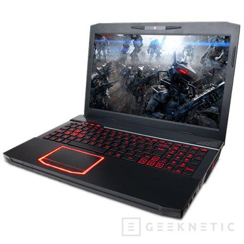 CyberPowerPC presenta el nuevo portátil gaming FANGBOOK III HX6-100, Imagen 1