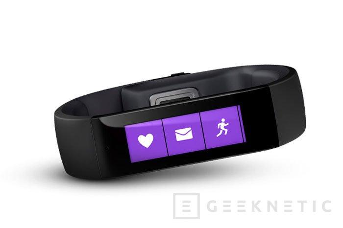 La pulsera Microsoft Band es la apuesta por los wearables de los creadores de Windows, Imagen 1