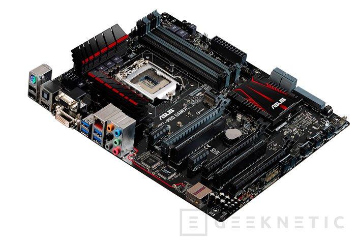 ASUS aumenta la gama de placas Pro Gamer con un modelo con chipset Intel Z97, Imagen 1