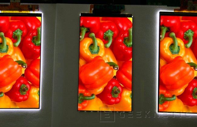 LG consigue una pantalla para smartphones con unos marcos de 0,7 mm, Imagen 1