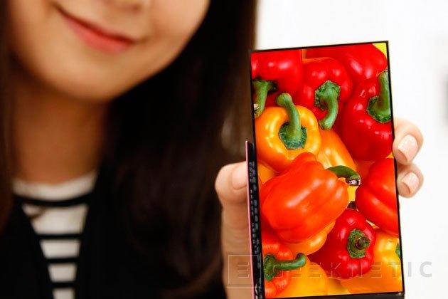 LG consigue una pantalla para smartphones con unos marcos de 0,7 mm, Imagen 2