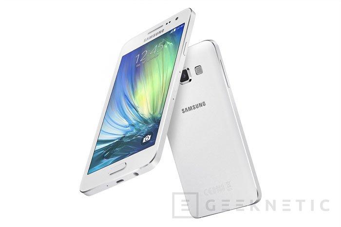 Samsung añade acabados premium a sus nuevos Galaxy A5 y A3 de gama media, Imagen 2