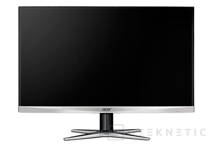 Acer reduce a la mínima expresión los marcos de su monitor G277HU, Imagen 1