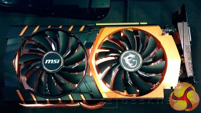 MSI muestra una edición limitada y dorada de su GeForce GTX 970, Imagen 1