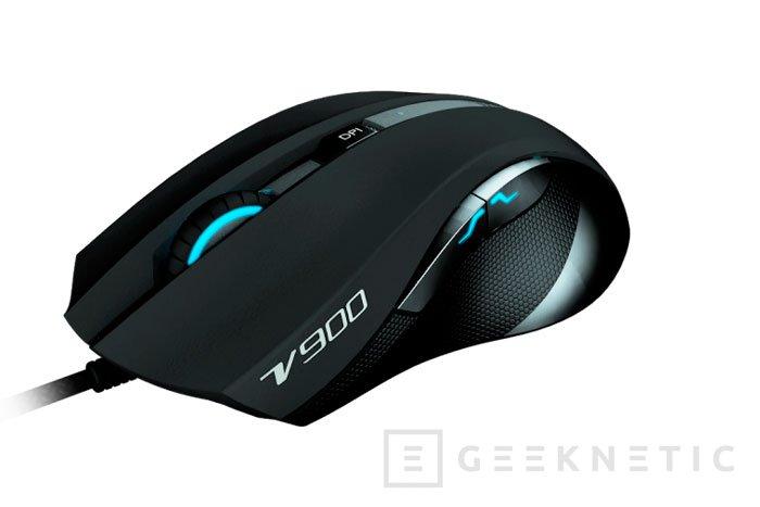 Rapoo V900, nuevo ratón para jugadores, Imagen 1