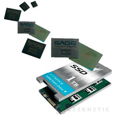 Sage presenta una controladora que permitirá fabricar SSD de 5 TB más baratos, Imagen 1