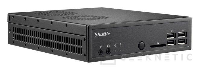 Shuttle DS87, nuevo barebone compacto con 43 mm de grosor, Imagen 1
