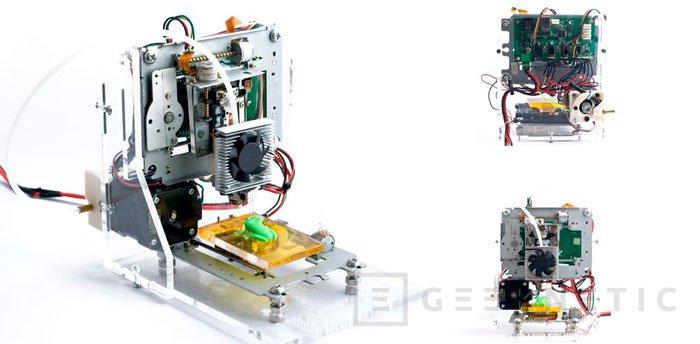EWaste, una impresora 3D de 60 Dólares fabricada con desechos informáticos, Imagen 1