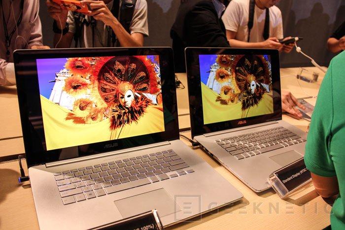El ASUS Zenbook NX500 llegará a España en diciembre con su pantalla 4K, Imagen 2